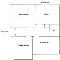 Plan of Vincent's Cottage